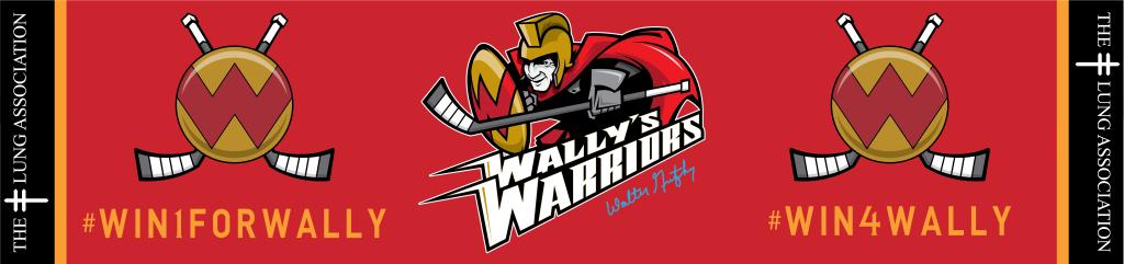 Wally's Warriors Banner
