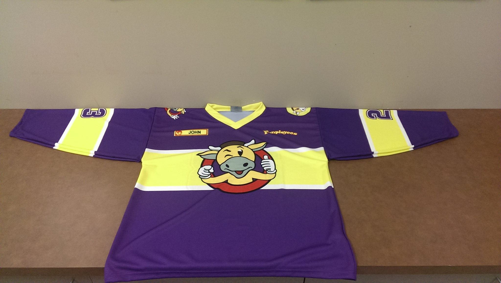 Funployees Jersey in 2014