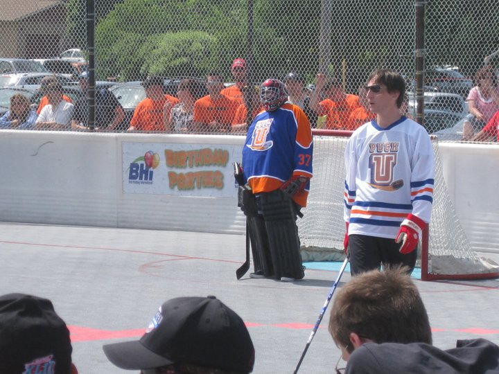 Kevin Smith and Jim Jackman of Puck U in 2010