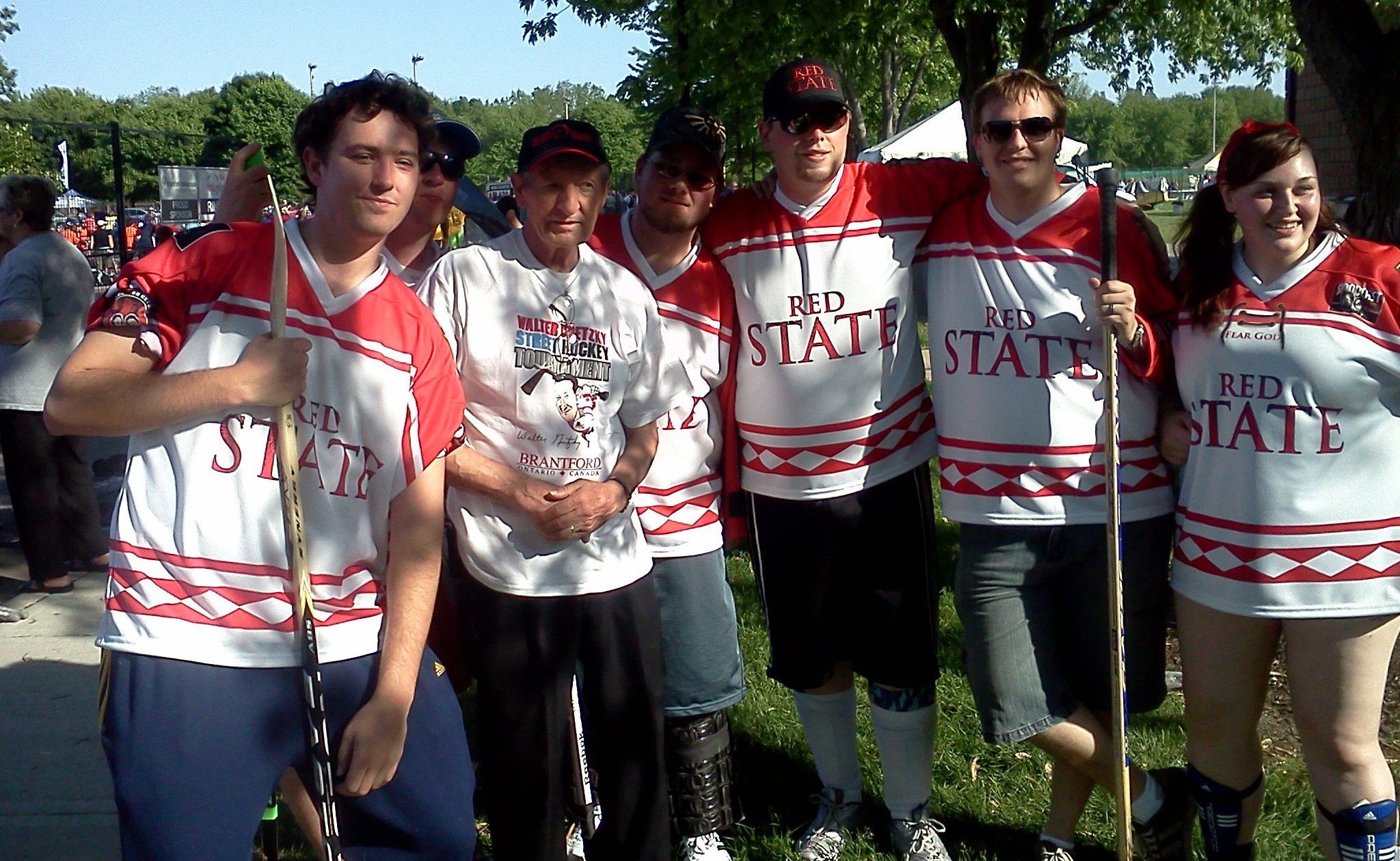 Red State Raiders with Walter Gretzky in 2011