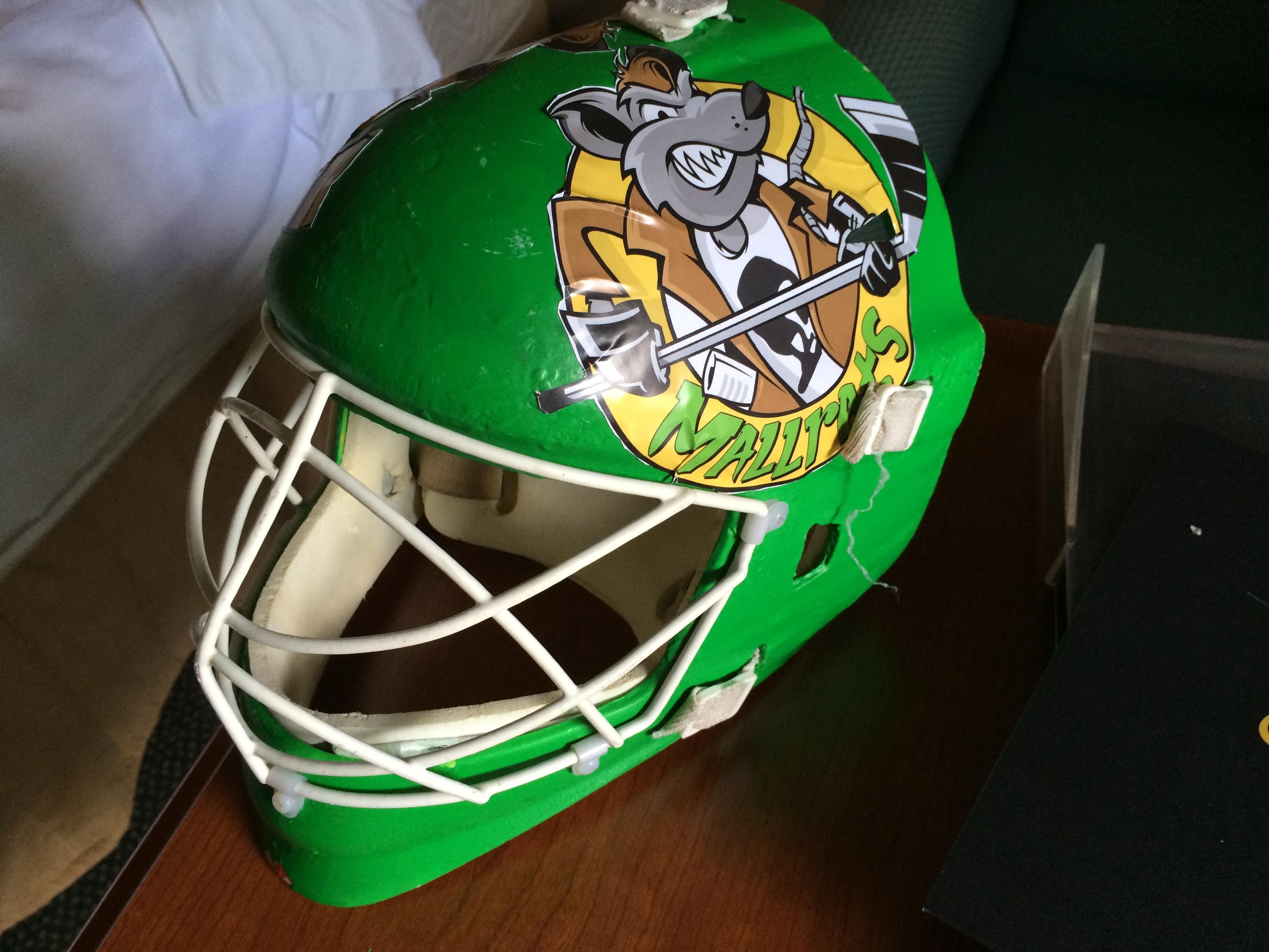 Mallrats Goalie Mask in 2015