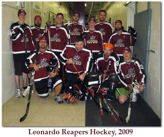 Leonardo Reapers in 2009