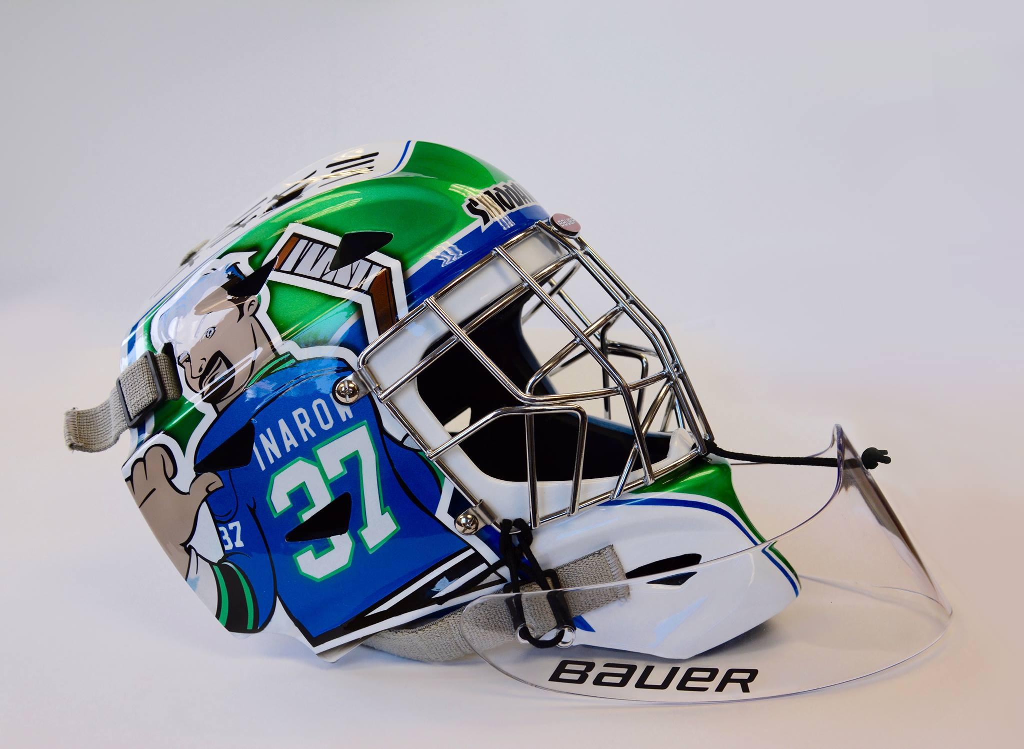 37's Goalie Mask in 2016