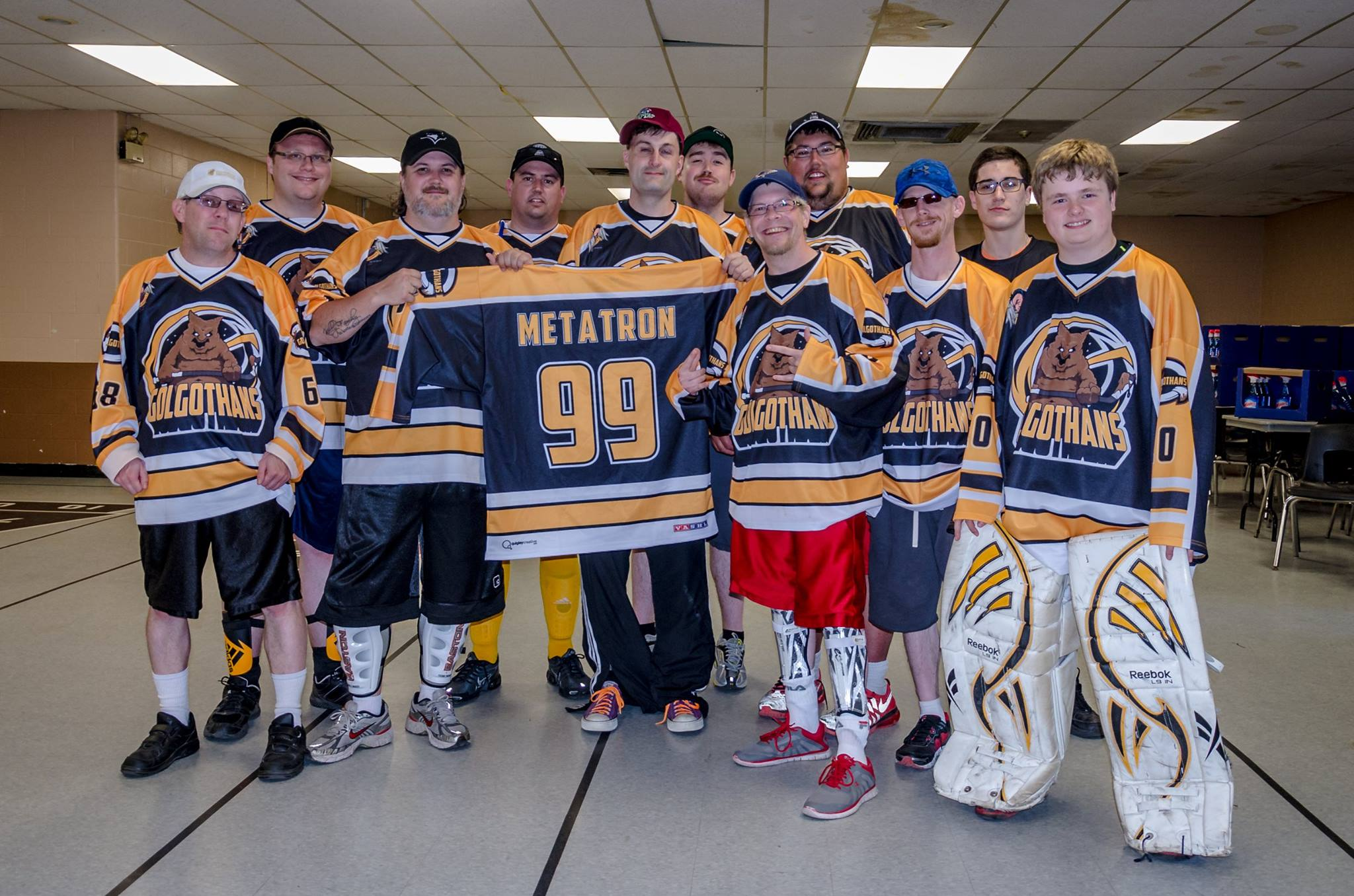 Golgothans with the Metatron Jersey in 2016