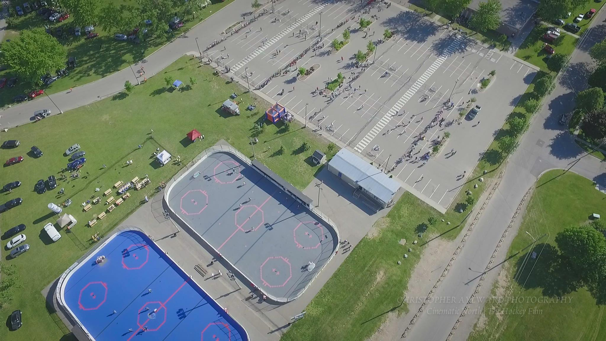 Aerial View of Lions Park in 2017