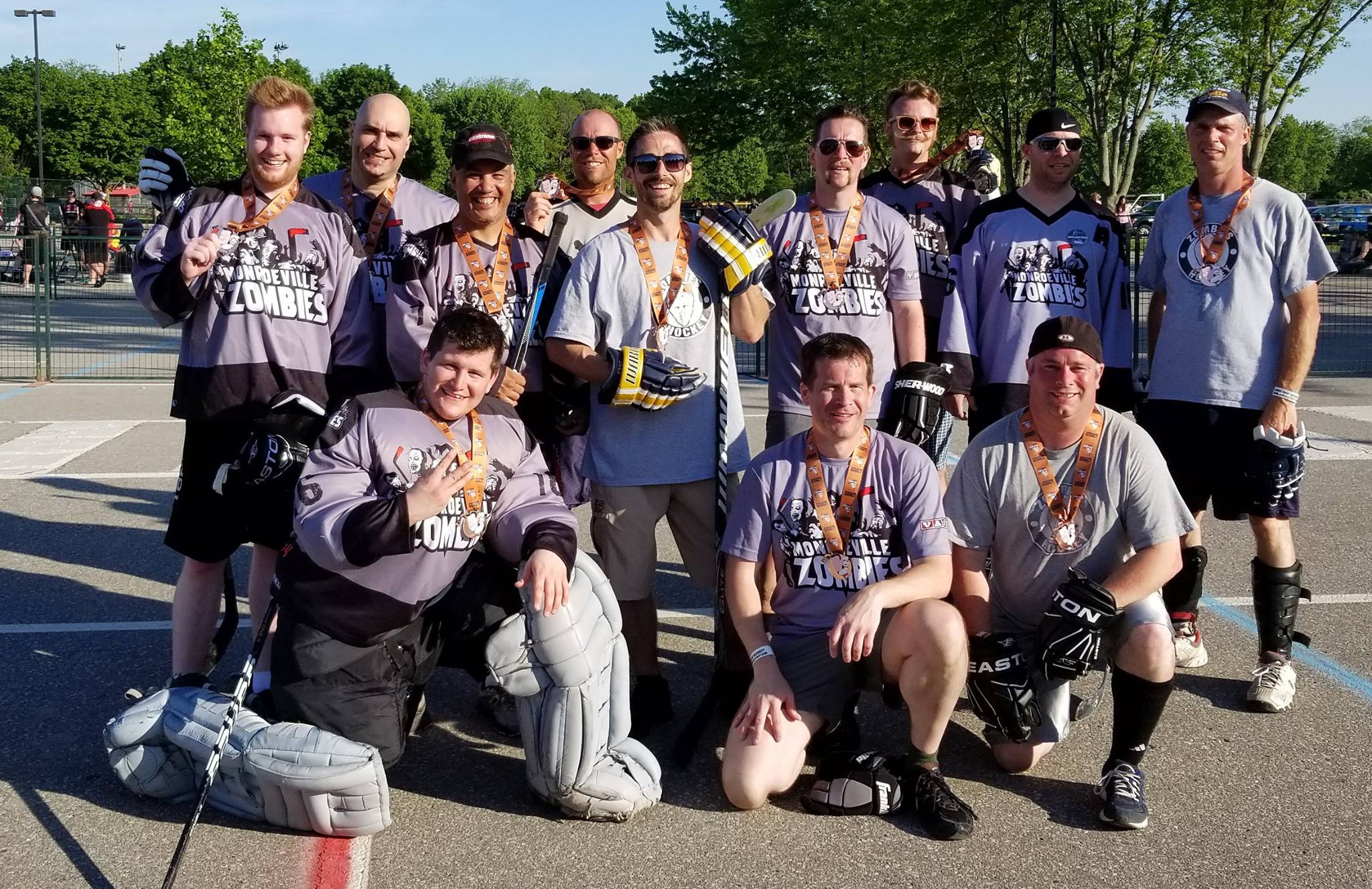 Monroeville Zombies Bronze Medalists in 2017