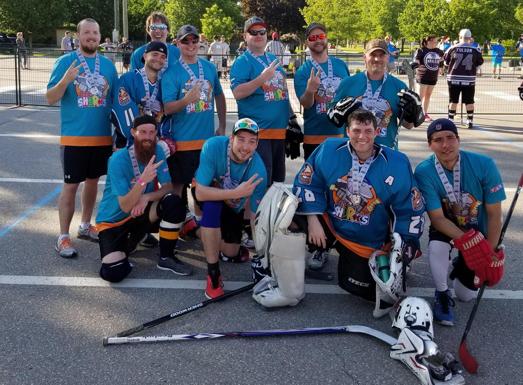 Salsa Sharks Silver Medalists in 2017